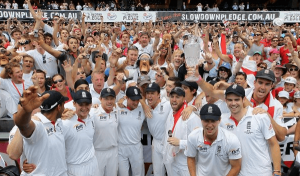 THE ASHES TOUR OF AUSTRALIA