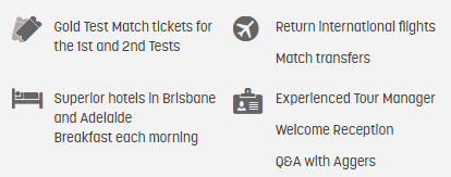 The Ashes 1st and 2nd Tests - Brisbane and Adelaide